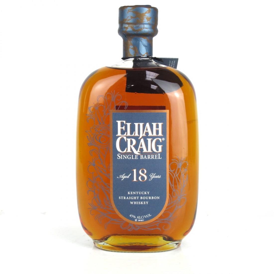 Elijah Craig 18 Year Old Single Barrel