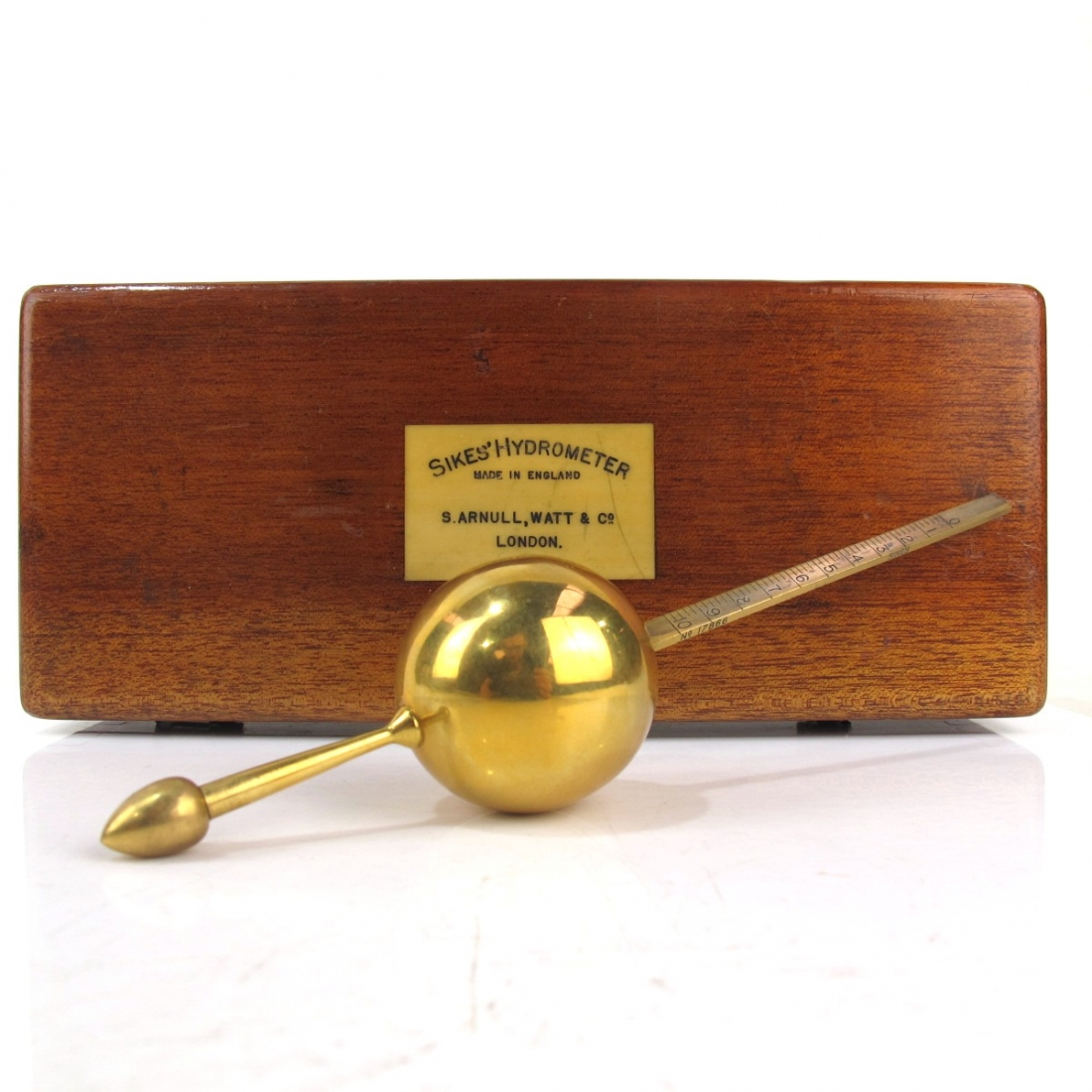 Sikes' Hydrometer Early 1900s