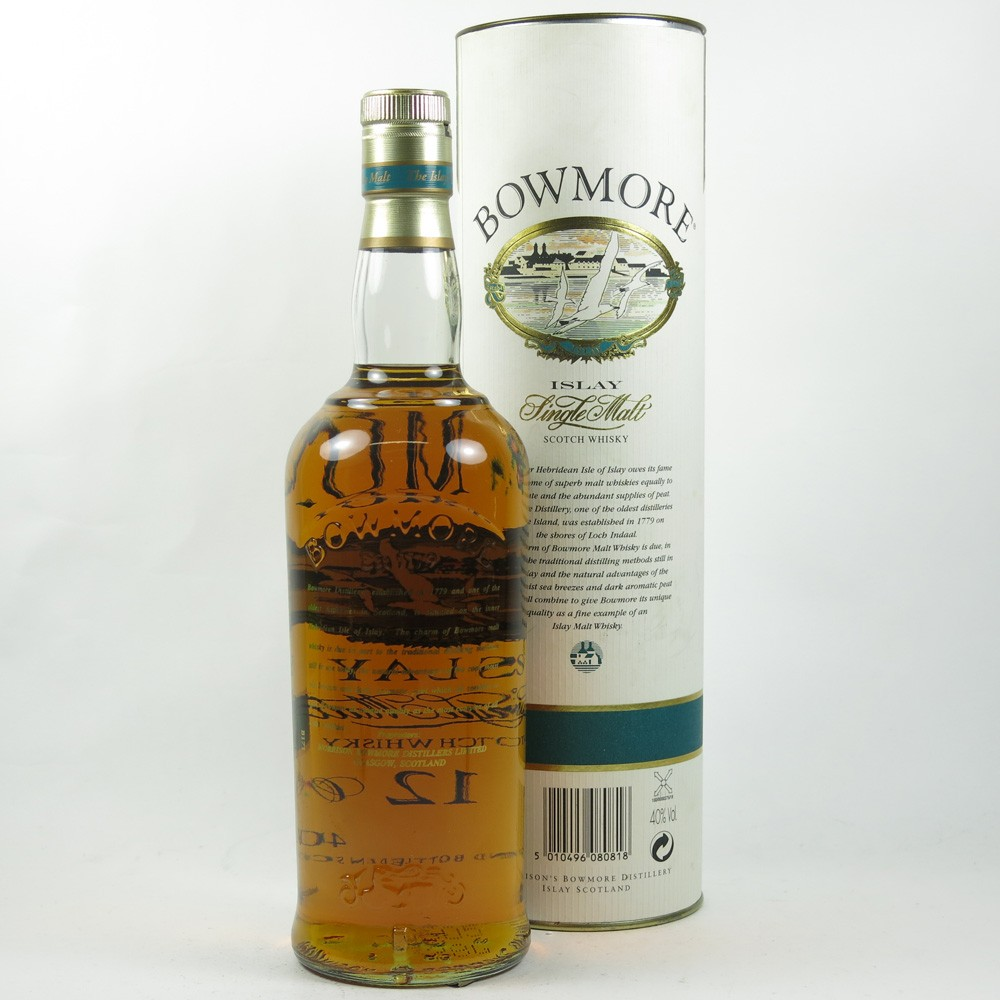 Bowmore 12 Year Old 1990s Back