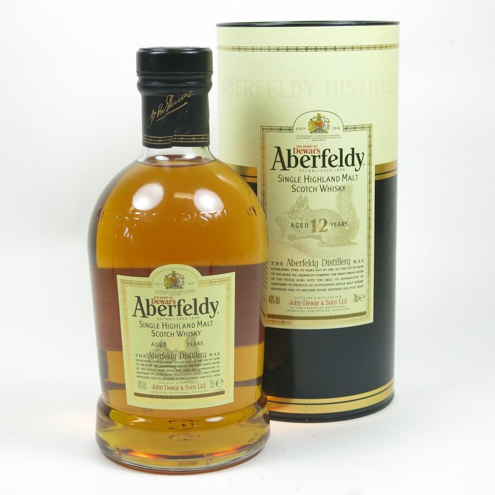 Aberfeldy 12 Year Old Front