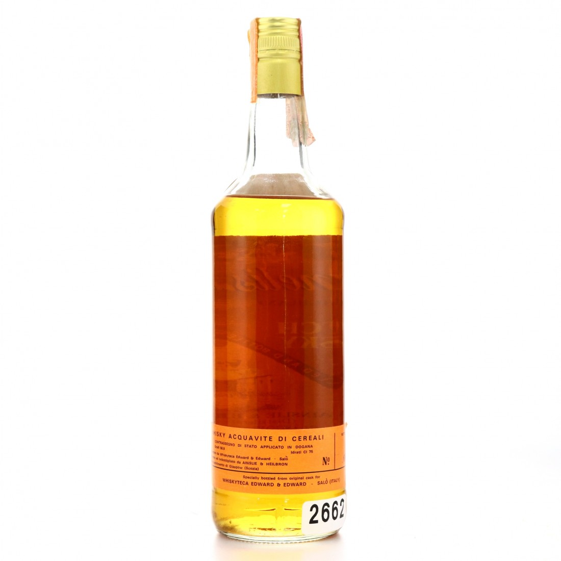 Clynelish 12 Year Old Ainslie and Heilbron Cask Strength 1973 / Edward and Edward