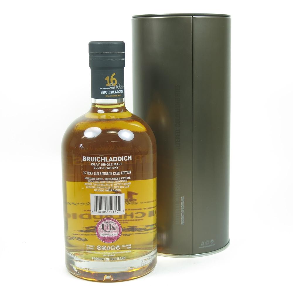 Bruichladdich 16 Year Old Bourbon Cask Back