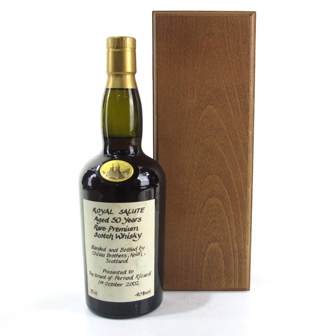 Chivas Royal Salute 50 Year Old / Pernod Ricard Board Presentation