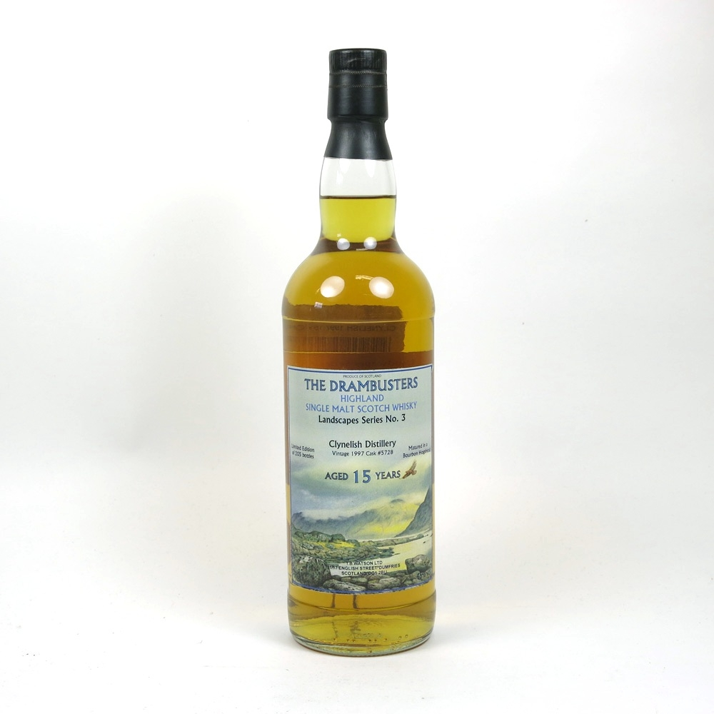 Clynelish 1997 Drambusters 15 Year Old Front