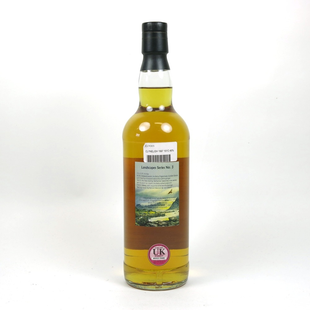 Clynelish 1997 Drambusters 15 Year Old Back