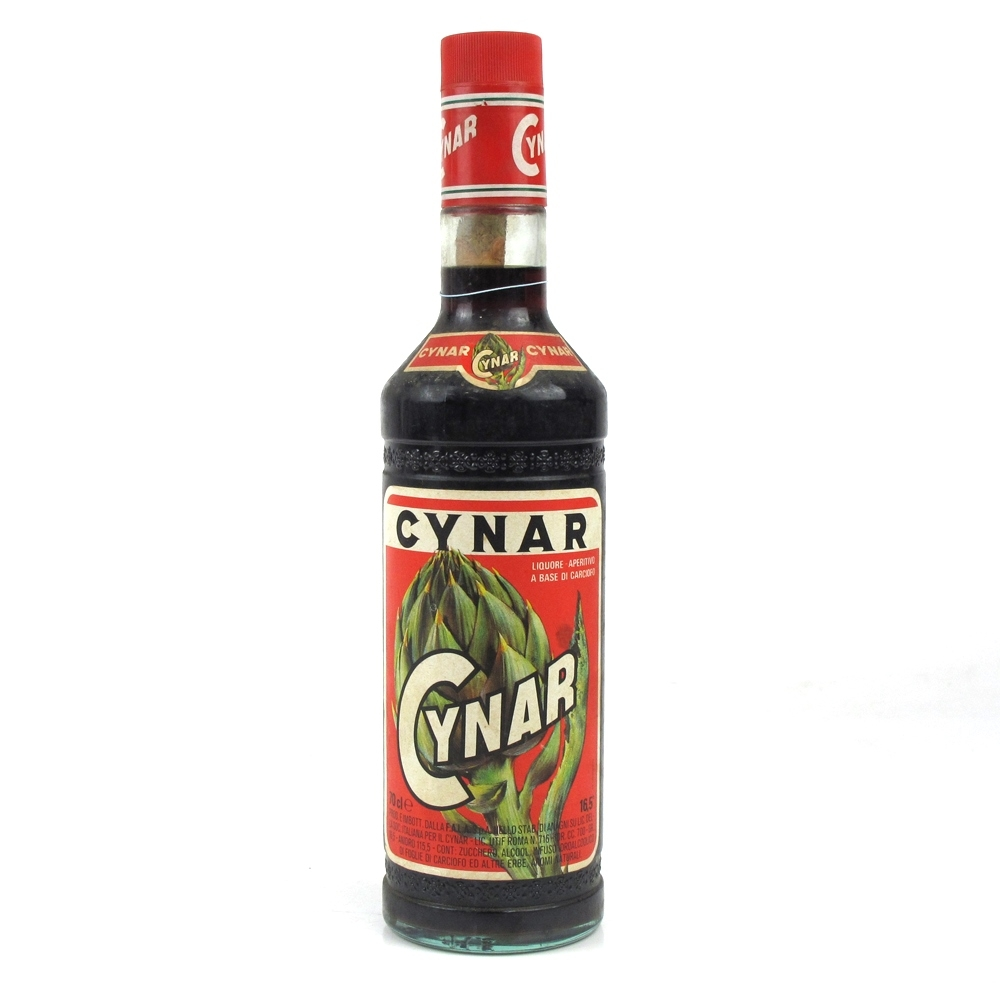 Cynar Artichoke Liqueur 1990s