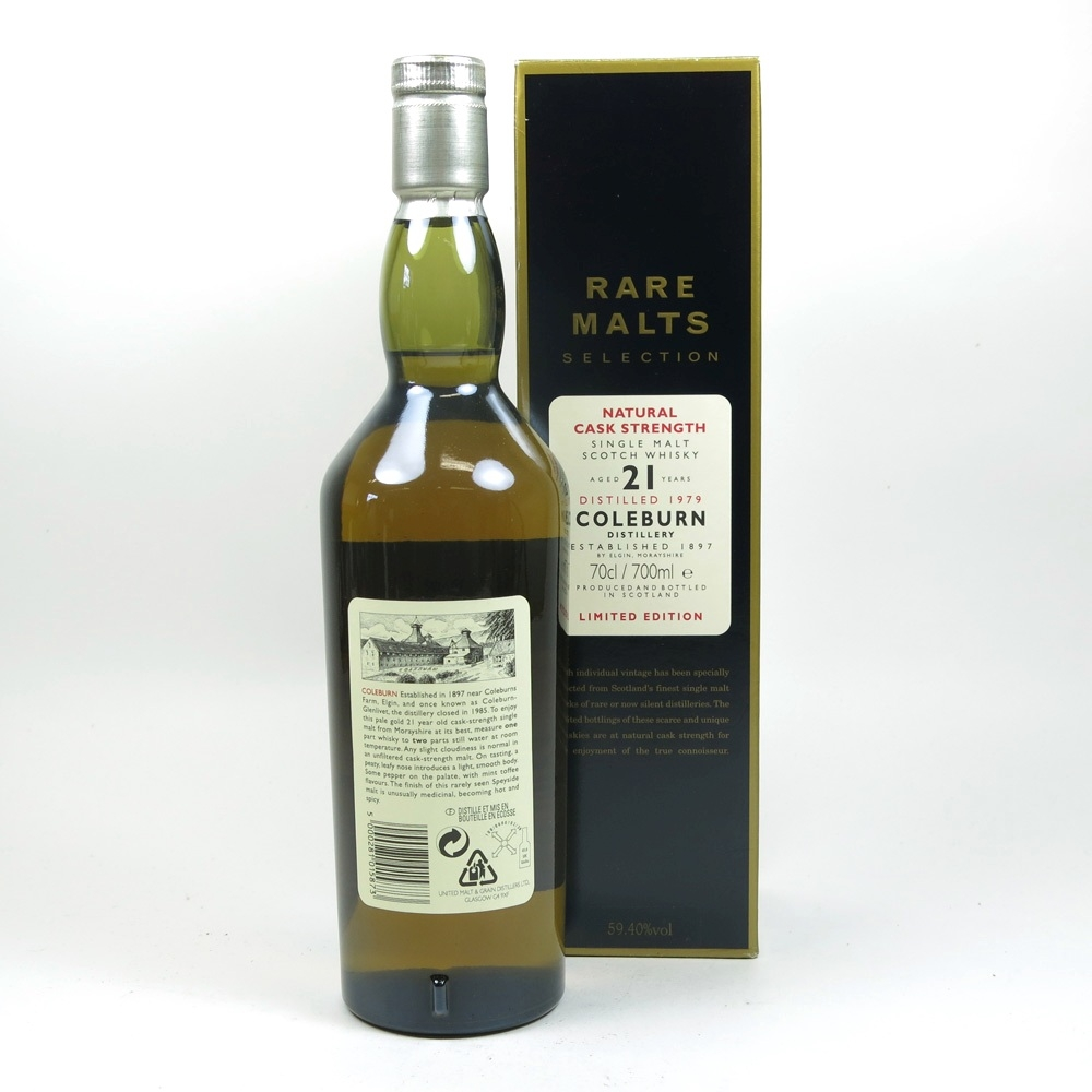 Coleburn 1979 Rare Malt 21 Year Old