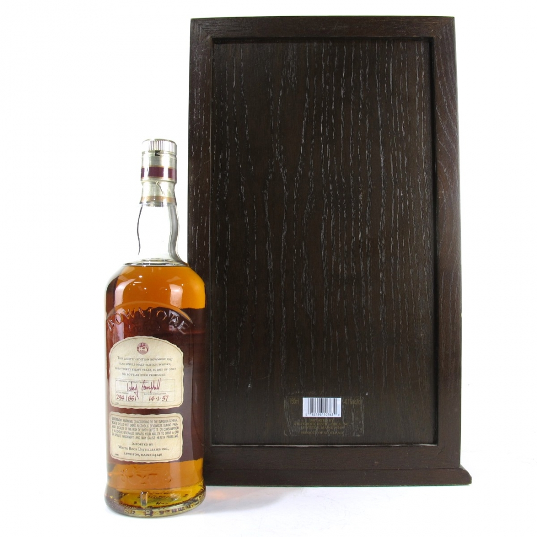 Bowmore 1957 75cl / US Import