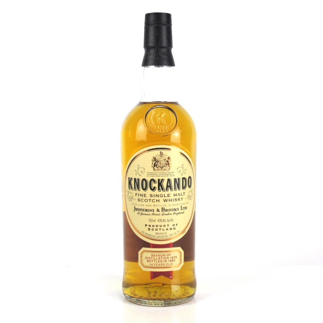 Knockando 1978 14 Year Old 75cl / US Import