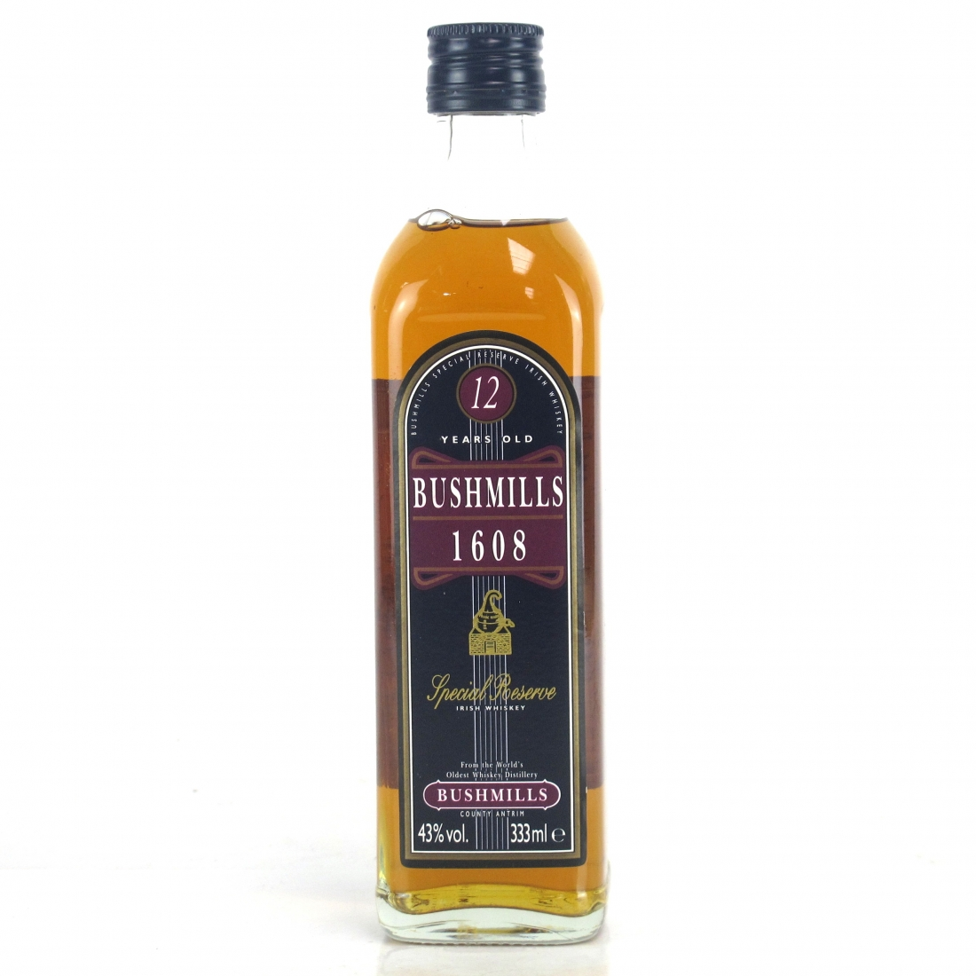 Bushmills 1608 Special Reserve 12 Year Old 33.3cl