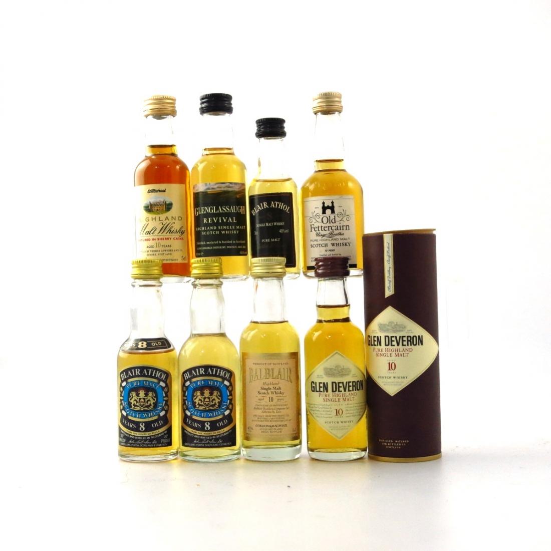Highland Single Malt Miniatures 8 x 5cl