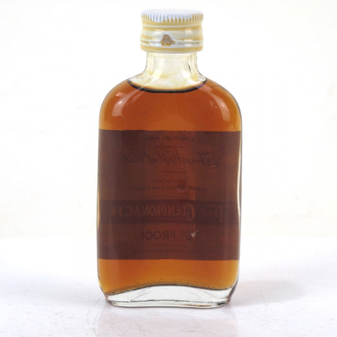 Glendronach Gordon and MacPhail 70 Proof Miniature 1970s