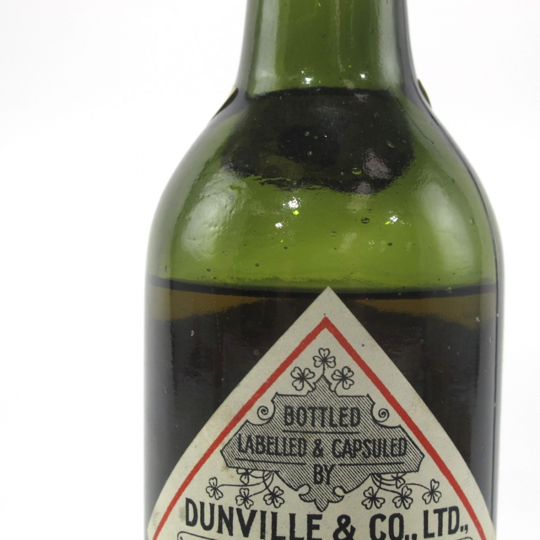 Dunville's VR Old Irish Whisky Early 20th Century