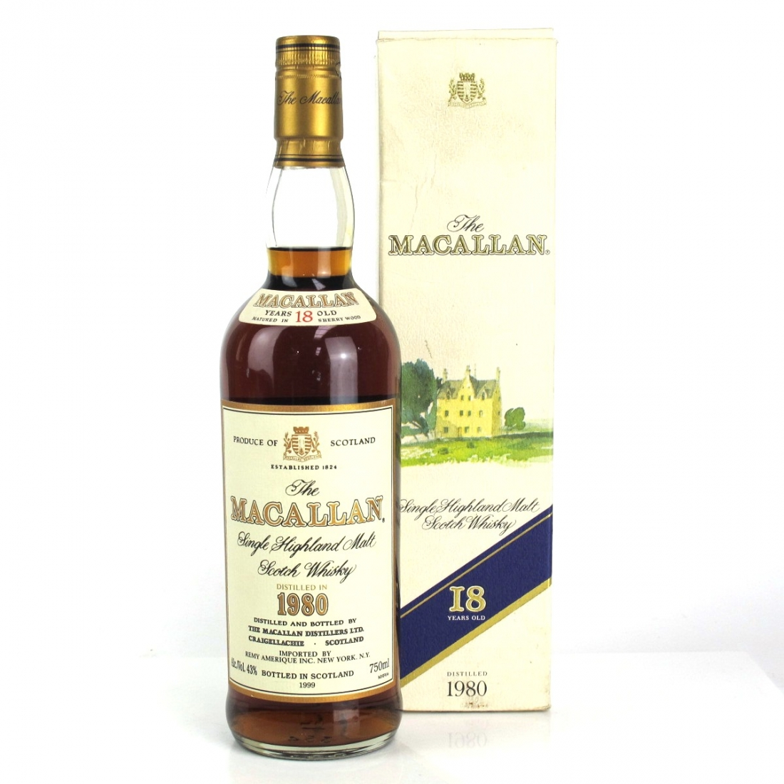 Macallan 18 Year Old 1980 75cl / US Import