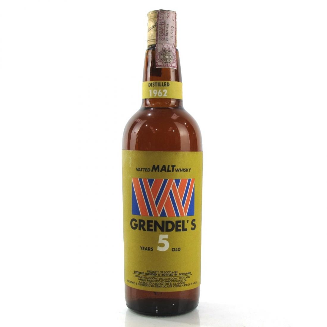 Grendel's 1962 Vatted Malt 5 Year Old