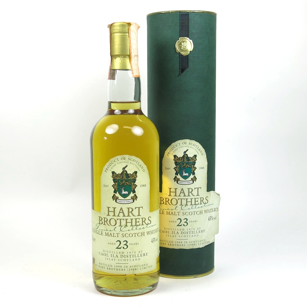 Caol Ila 1975 Hart Brothers 23 Year Old Front
