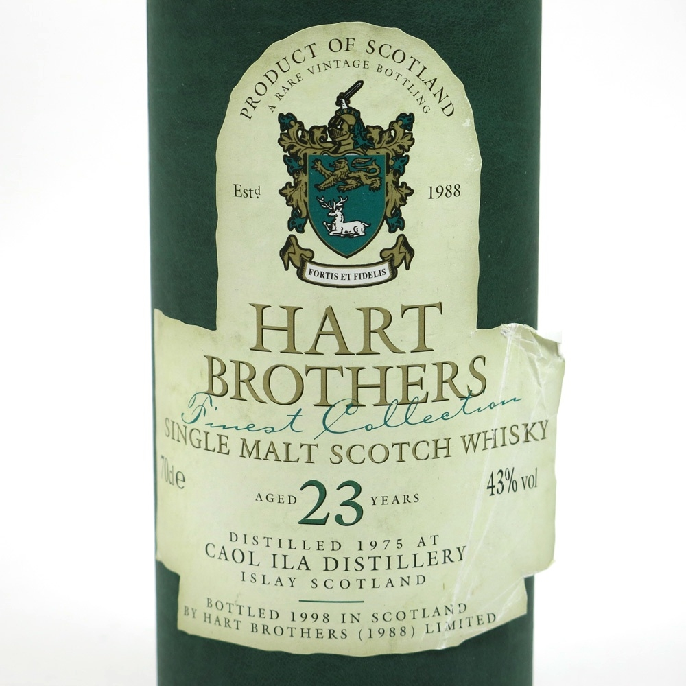 Caol Ila 1975 Hart Brothers 23 Year Old Label 2