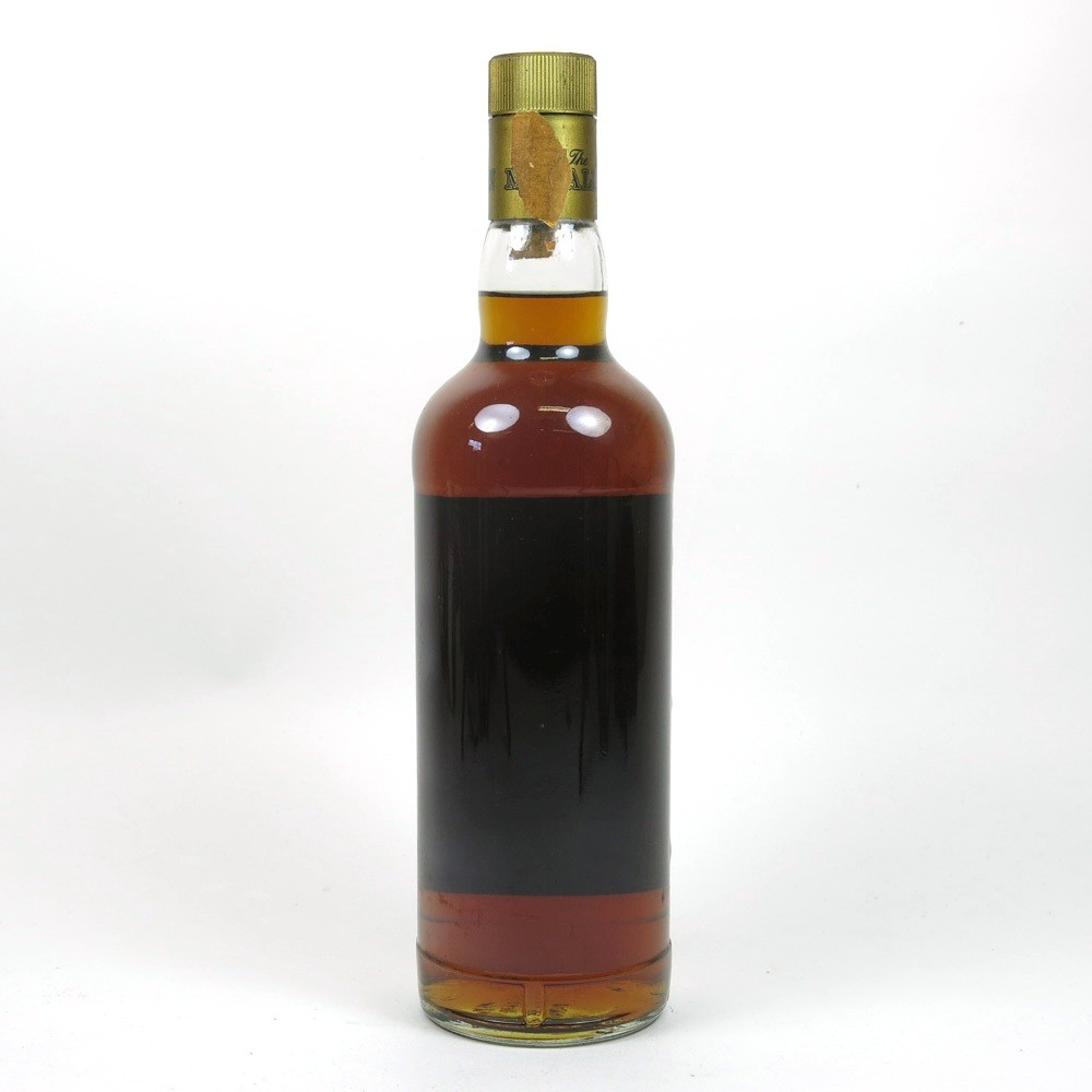 Macallan 1964 / Bottled 1982 Back