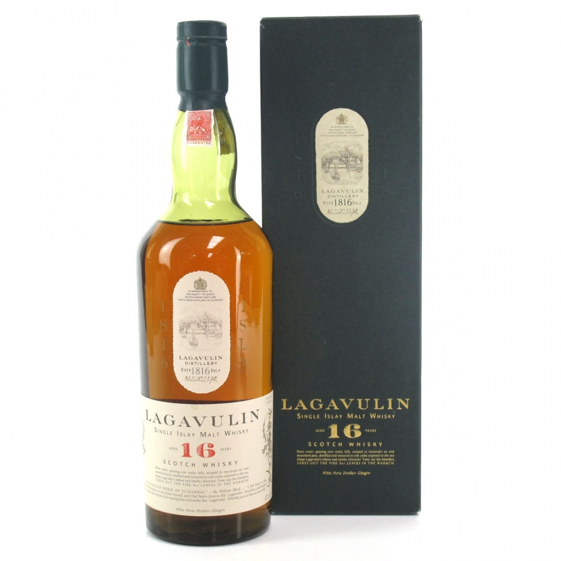 Lagavulin 16 Year Old White Horse 75cl / US Import