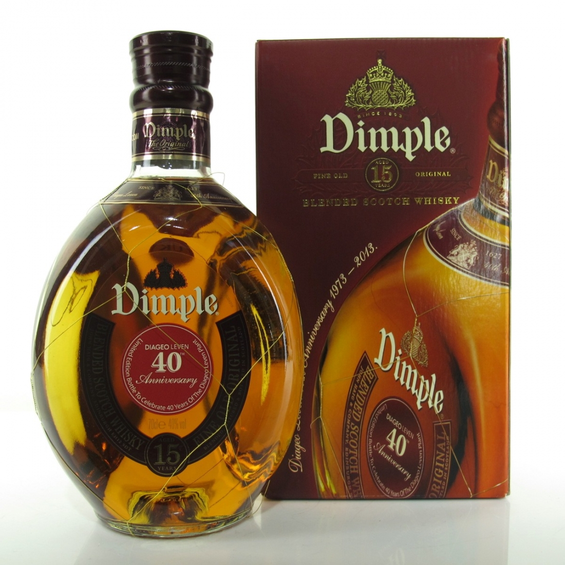 Dimple 15 Year Old / 40th Anniversary Diageo Leven 1973-2013