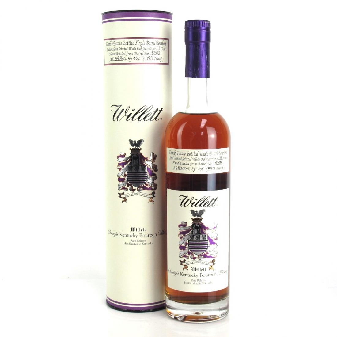 Willett Family Estate 11 Year Old Single Barrel Bourbon