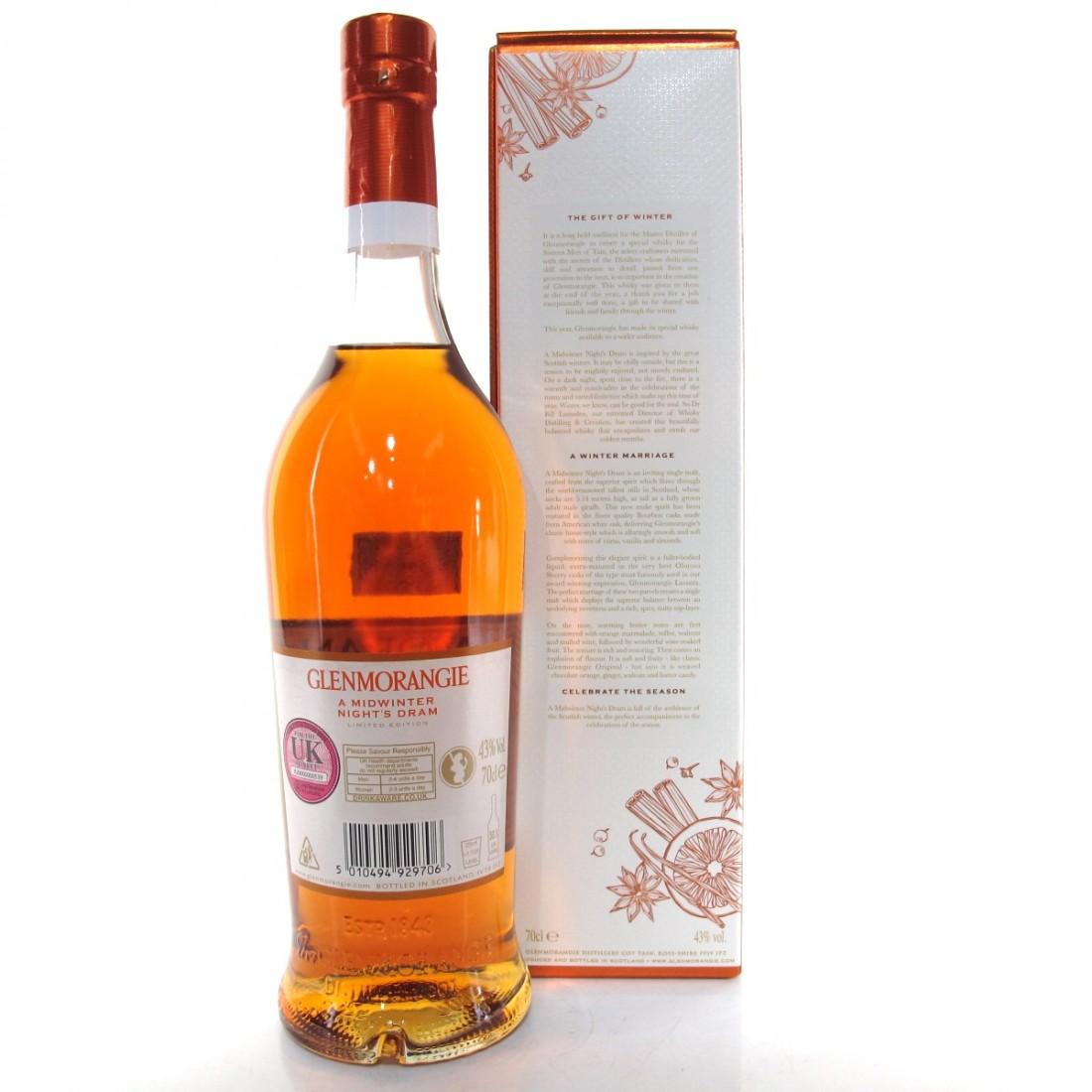 Glenmorangie A Midwinter Night's Dram First Release