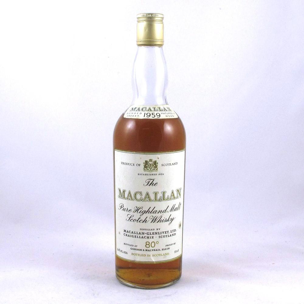 Macallan 1959 (26 2/3rds fl oz) Front