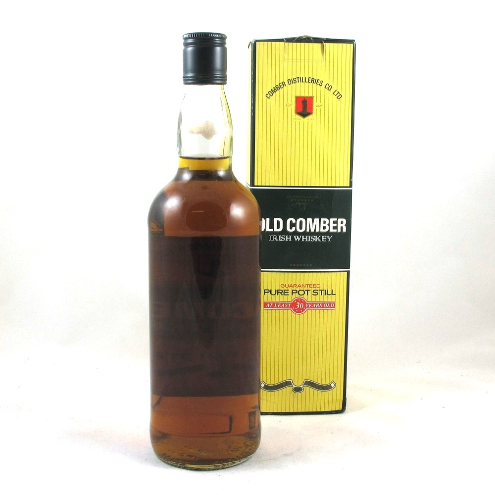 Old Comber 30 Year Old 1980s 75cl Back