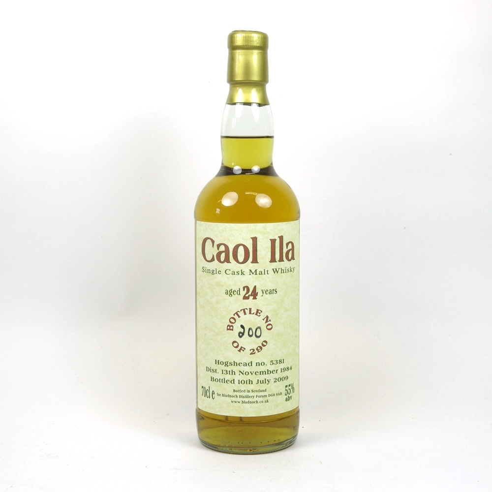 Caol Ila 1984 Bladnoch Forum 24 Year Old