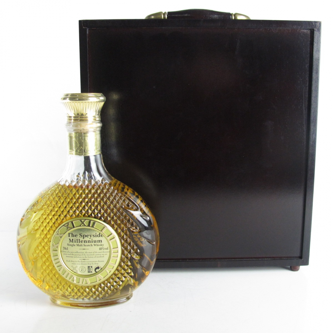 Speyside Millennium Decanter / Including 5cl