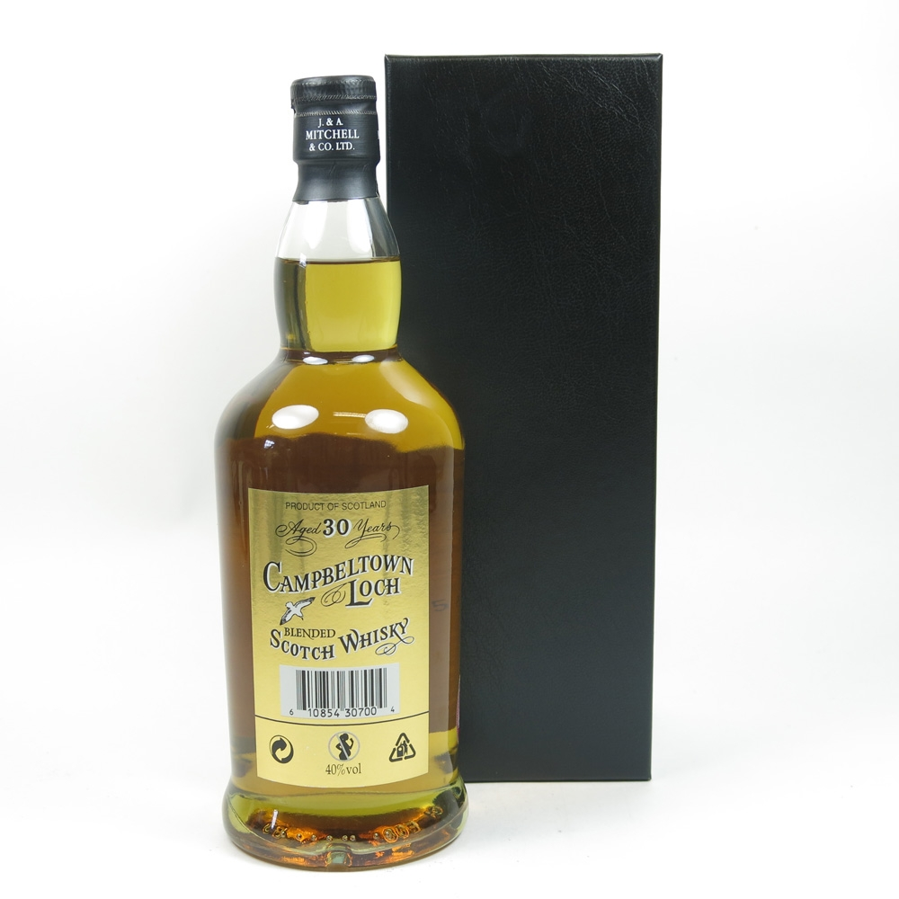 Campbeltown Loch 30 Year Old Back