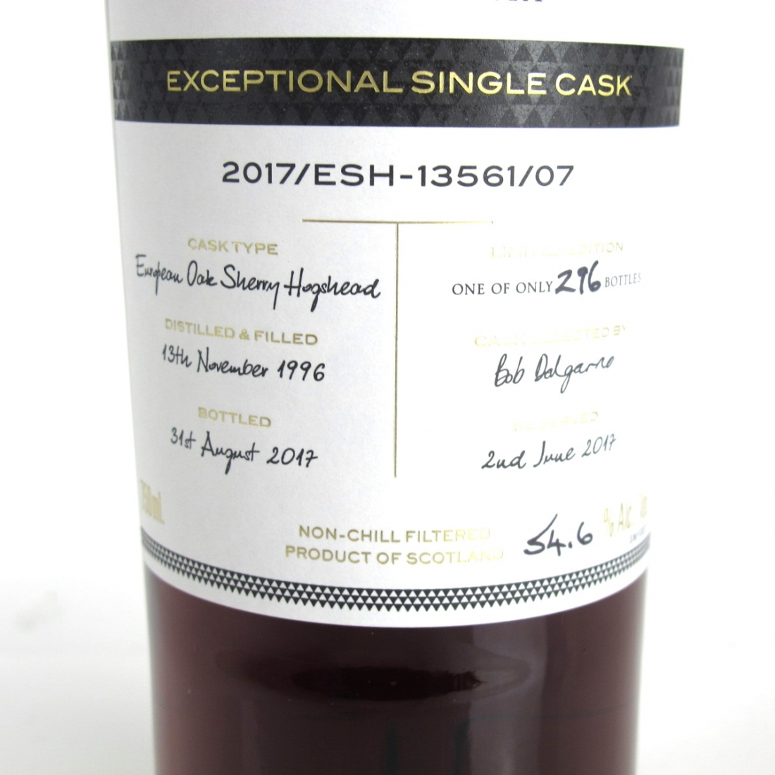Macallan 1996 Exceptional Cask #13561-07 / US Import 75cl