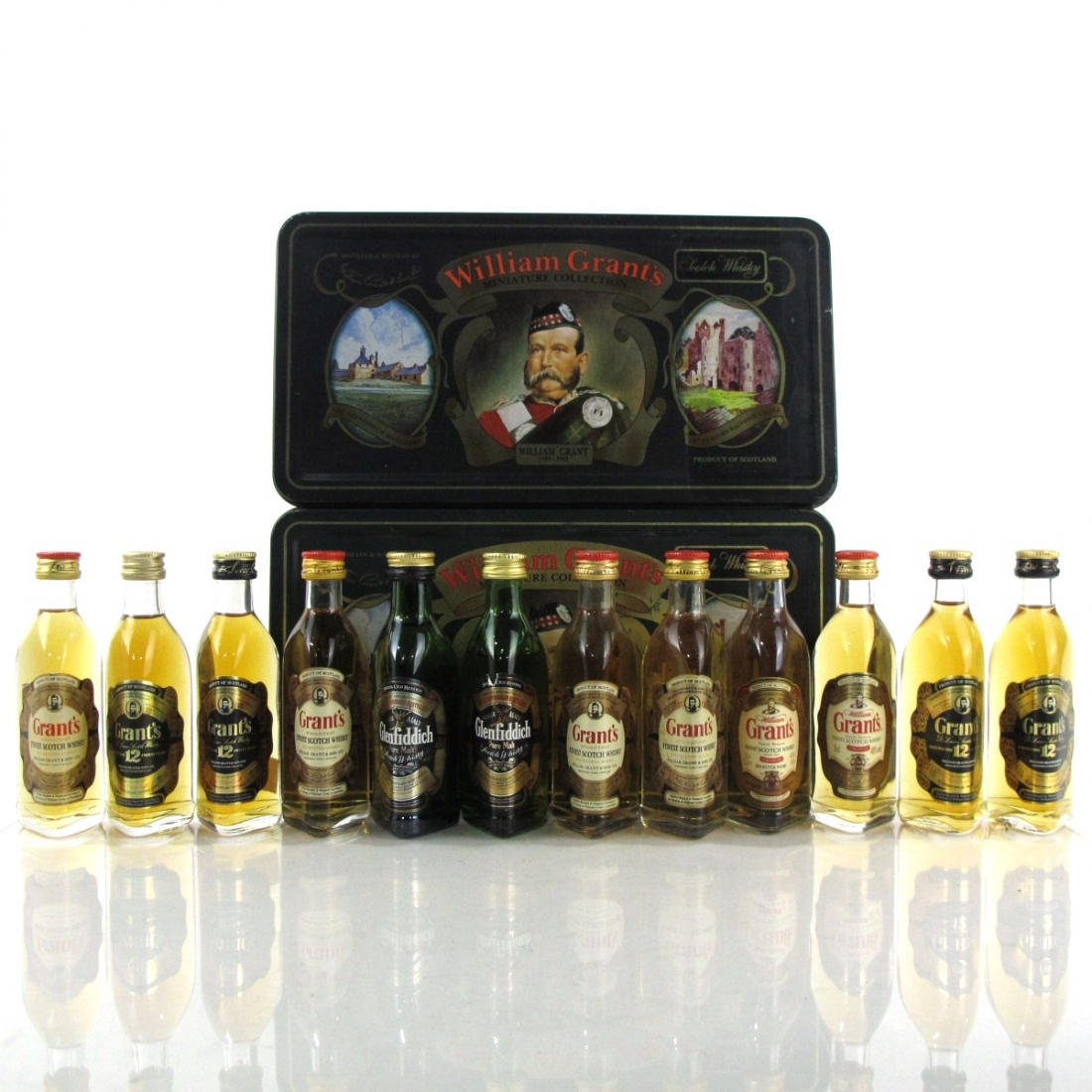 WIlliam Grant's Miniature Collection / 12 x 5cl
