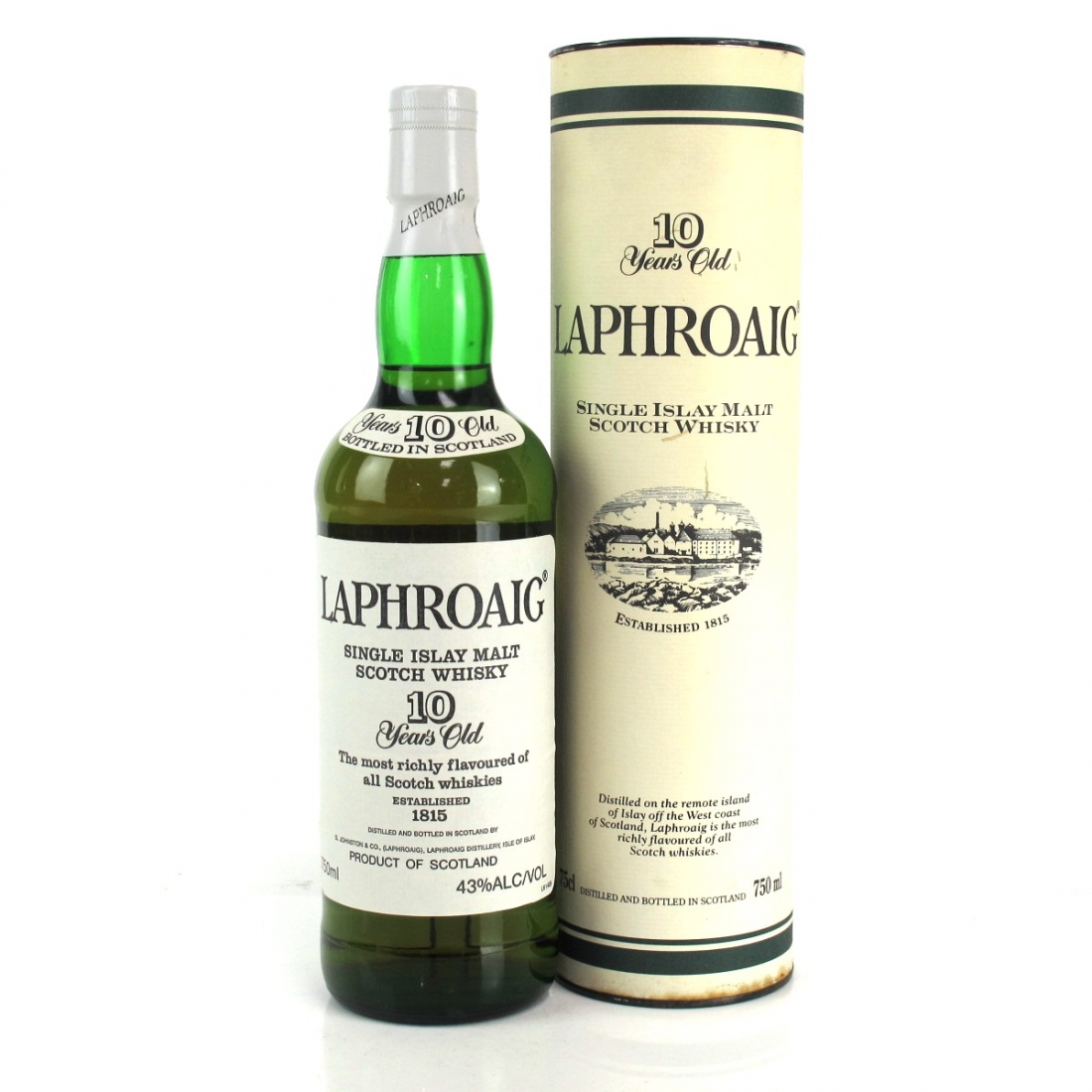 Laphroaig 10 Year Old 1990s 75cl / US Import