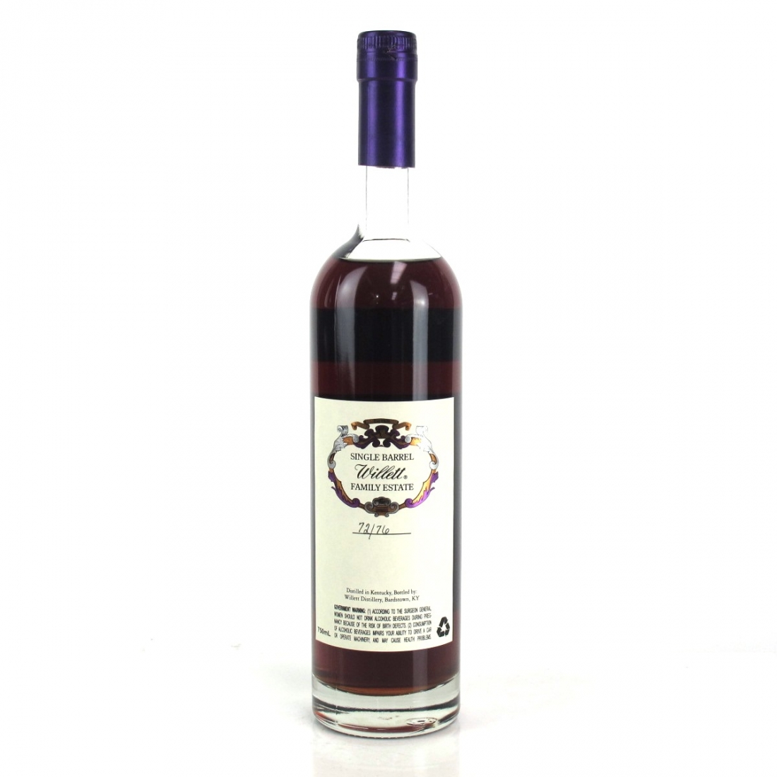 Willett Family Estate 27 Year Old Single Barrel Bourbon #2877