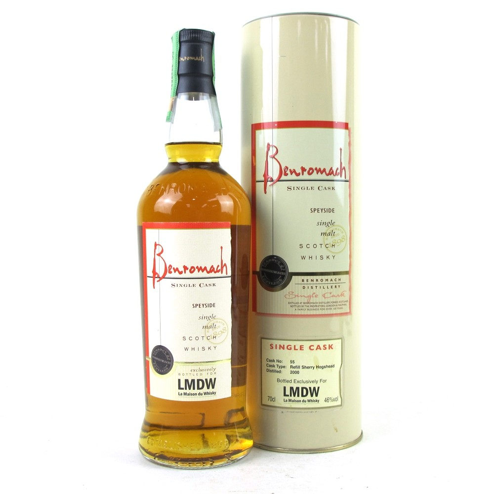 Benromach 2000 Single Cask Refill Sherry Finish / LMDW