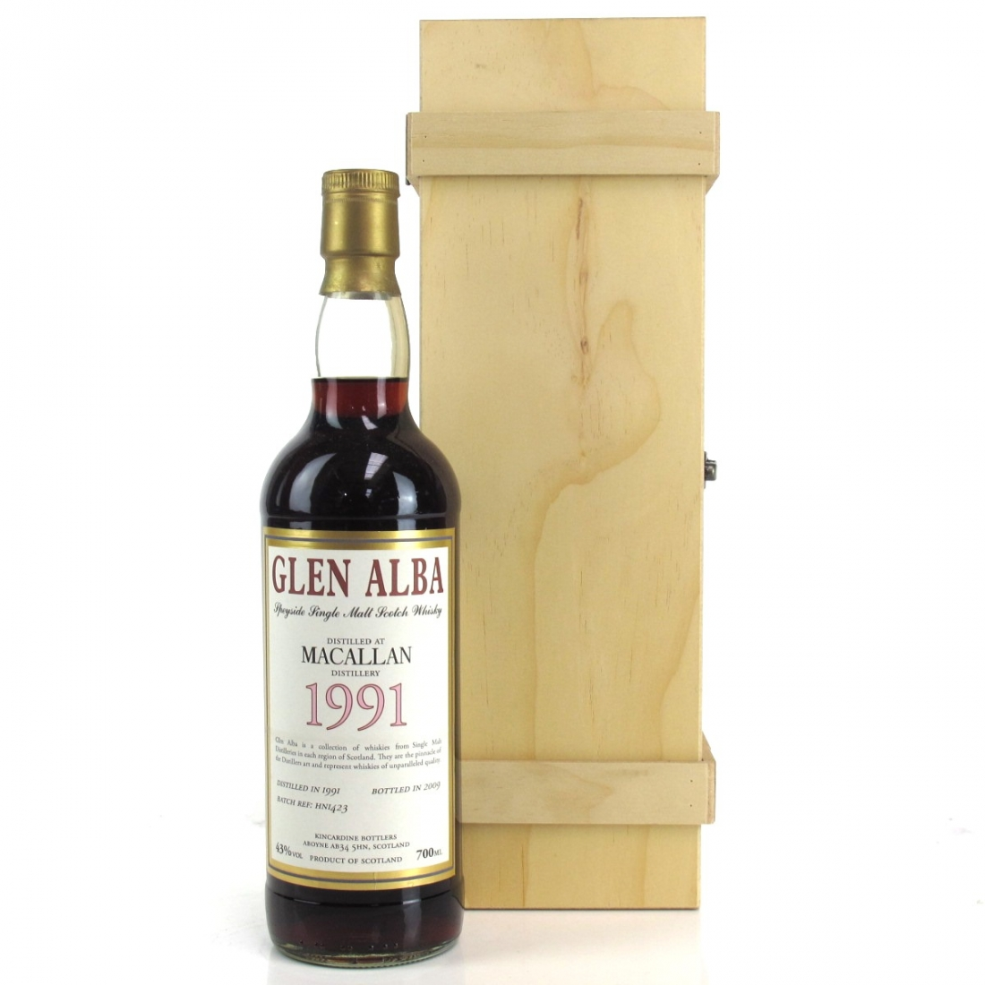 Macallan 1991 Glen Alba