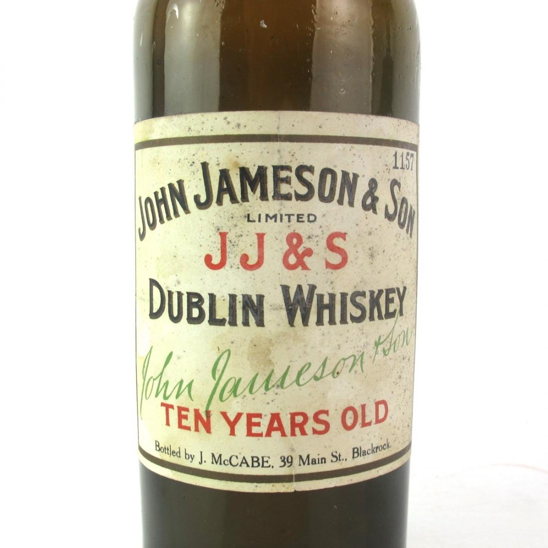 John Jameson and Son 10 Year Old circa 1930s / J McCabe