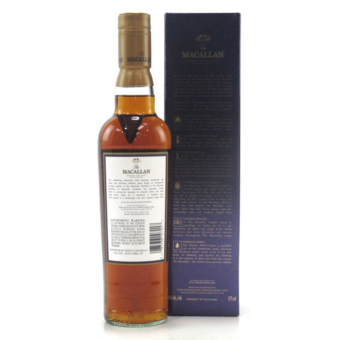 Macallan 18 Year Old 1991 37.5cl / US Import