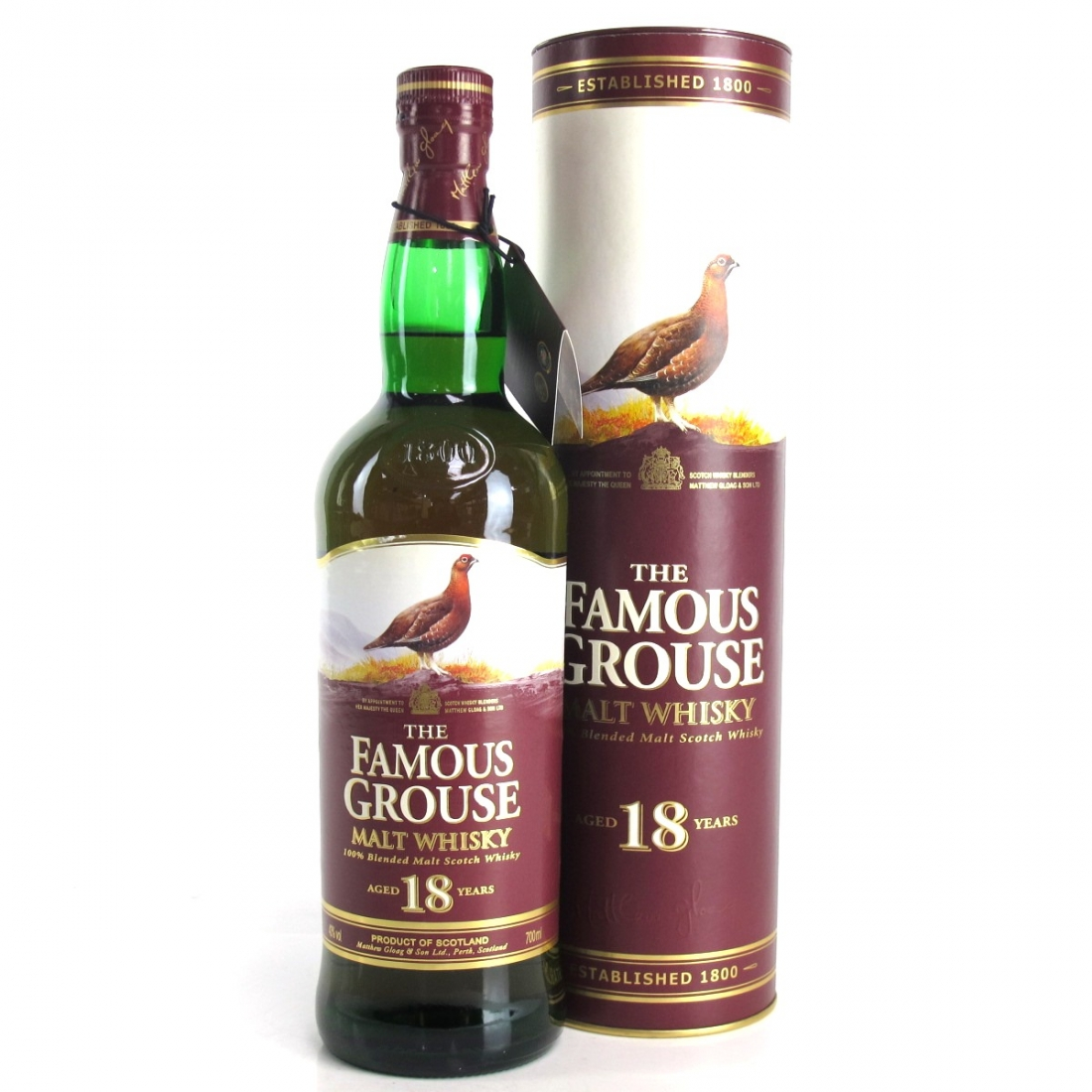 Famous Grouse 18 Year Old Malt