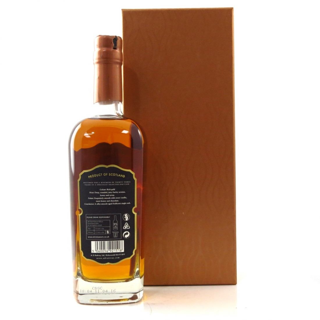Dufftown 1982 A D Rattray's 23 Year Old