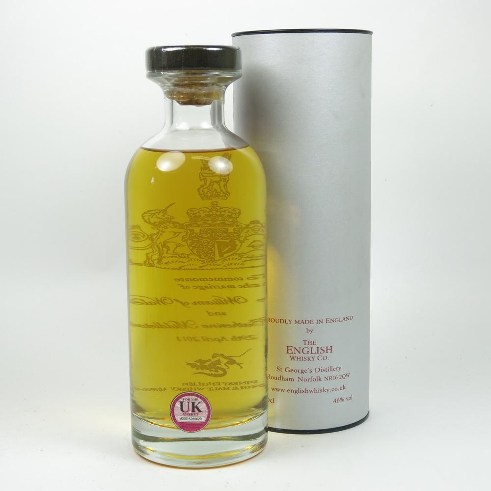 English Whisky Co Royal Wedding Back