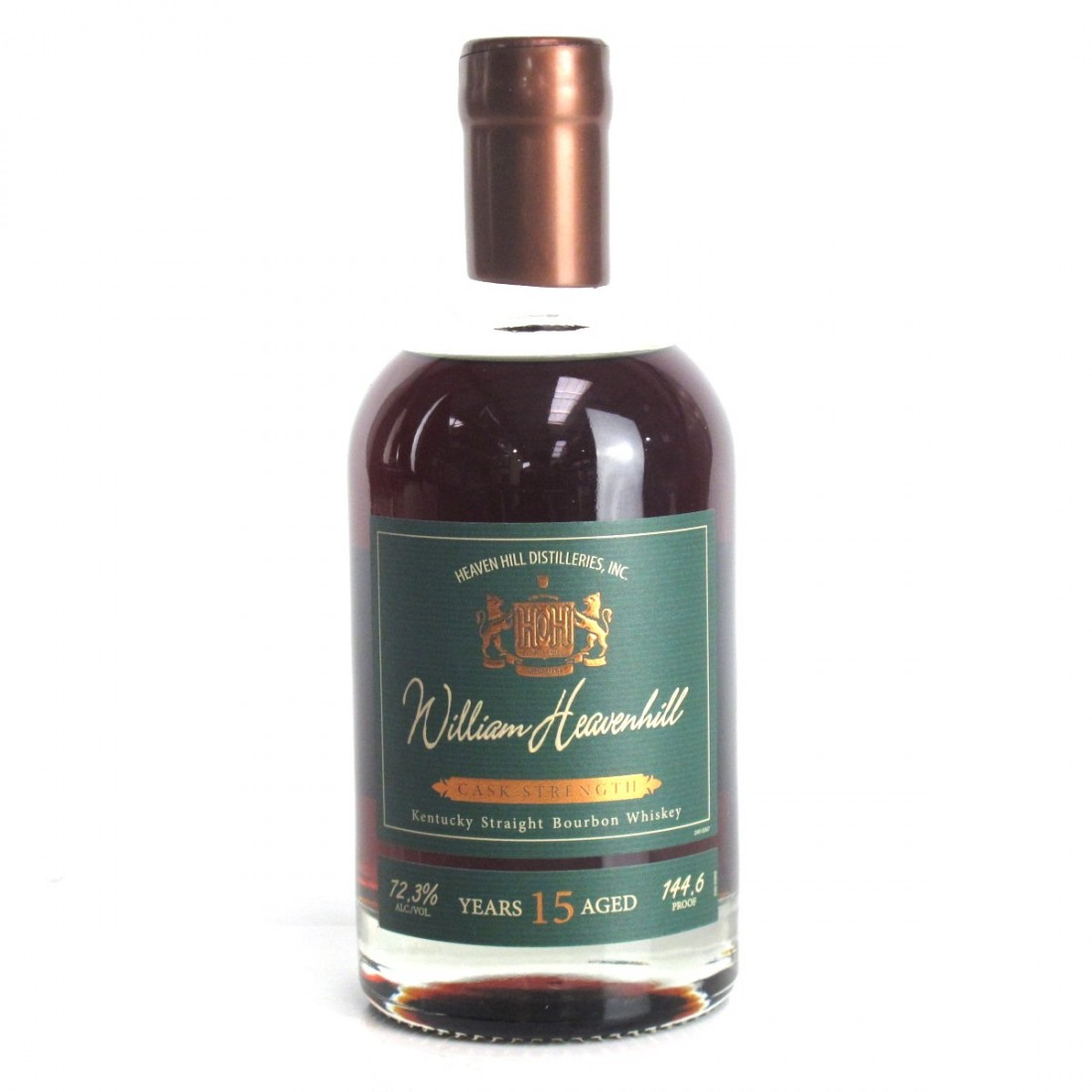 Heaven Hill 15 Year Old William Heavenhill Cask Strength
