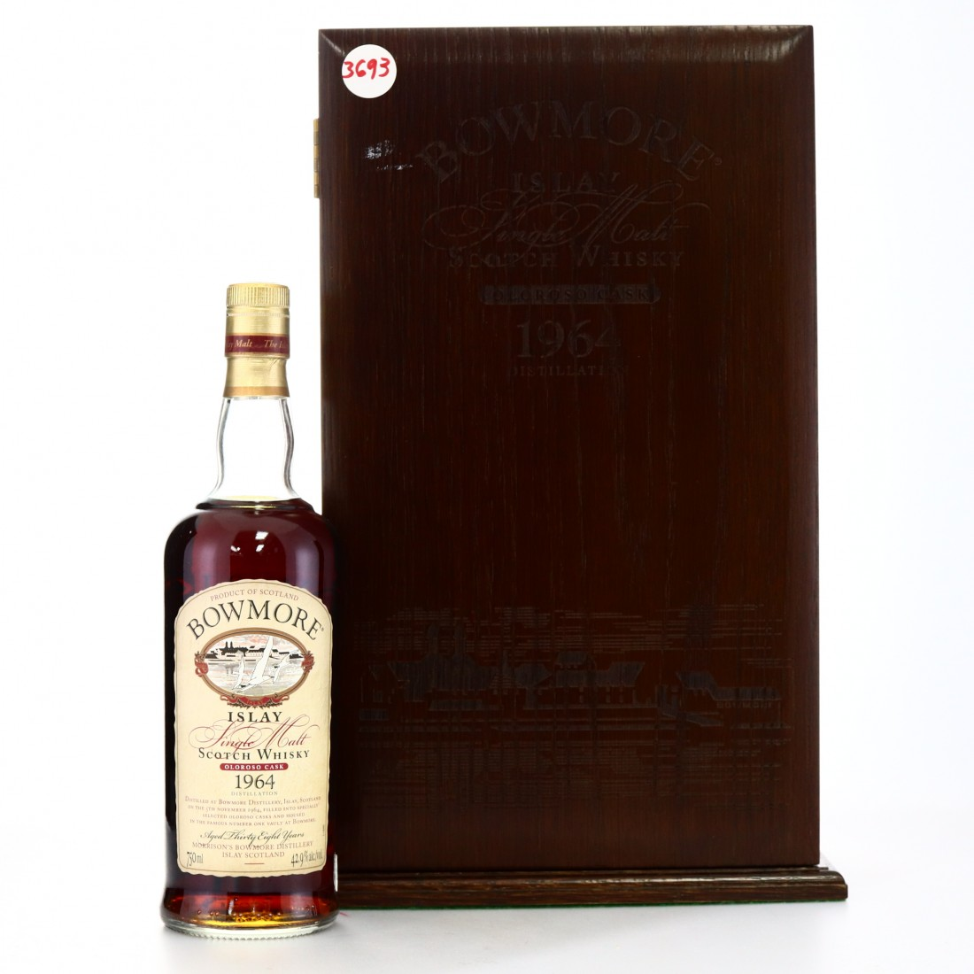 Bowmore 1964 Oloroso Cask 38 Year Old 75cl / US Import