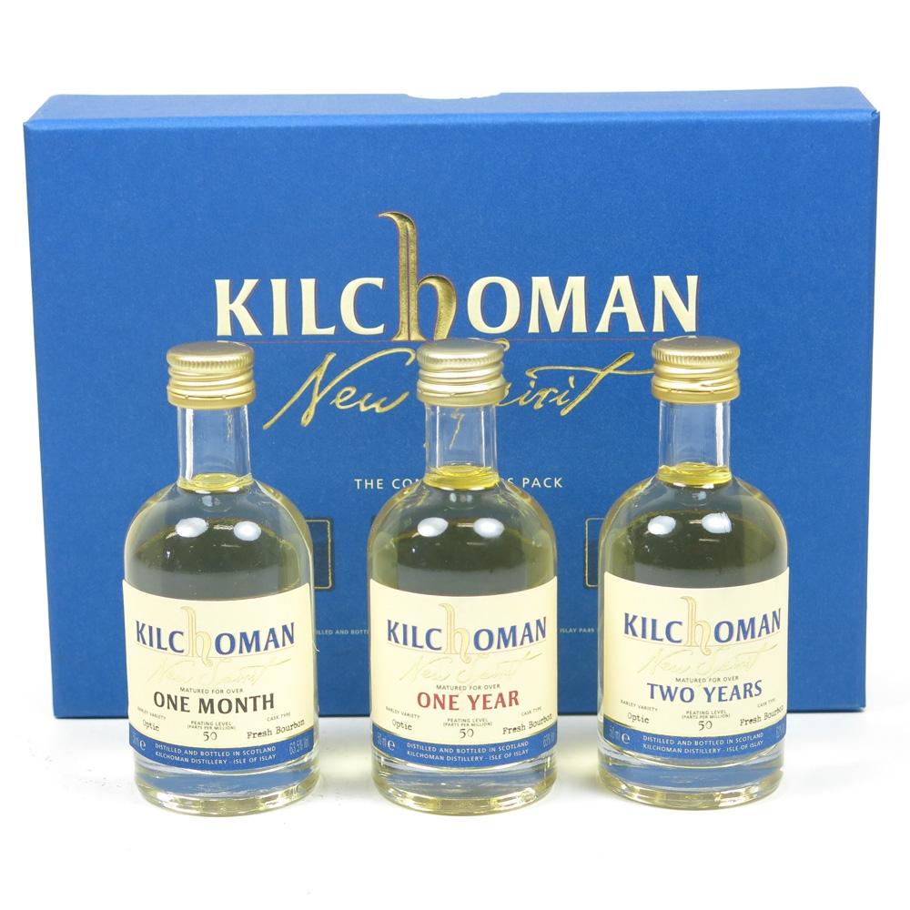 Kilchoman Connoisseur Pack 3x 5cl