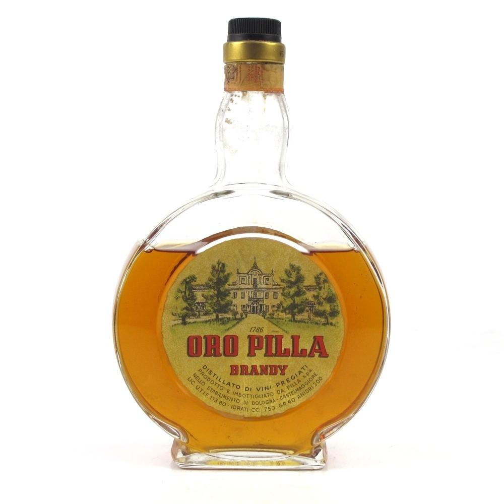 Oro Pilla Brandy 75cl 1960s