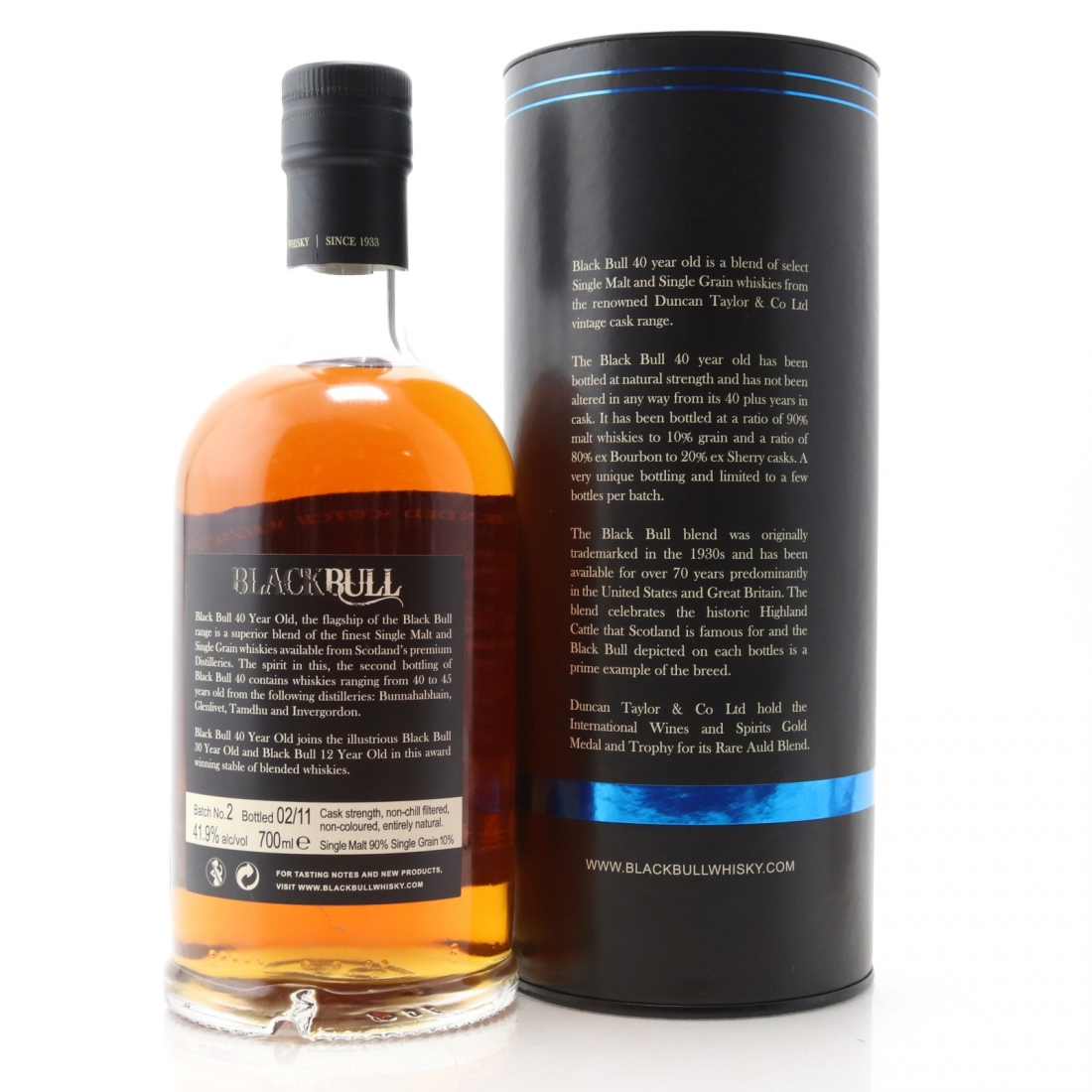 Black Bull 40 Year Old 2nd Release