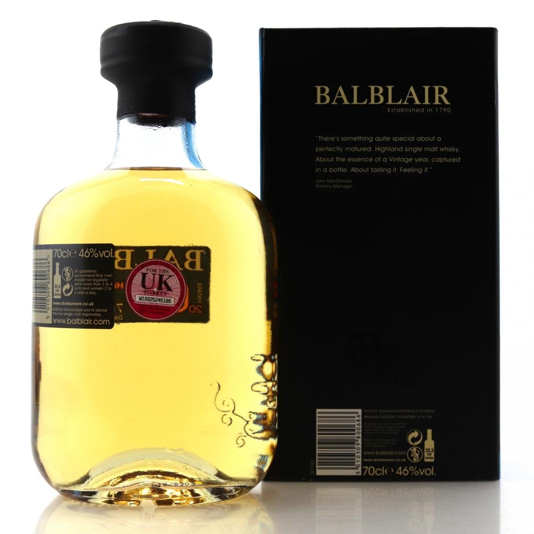 Balblair 2003 1st Release 2015