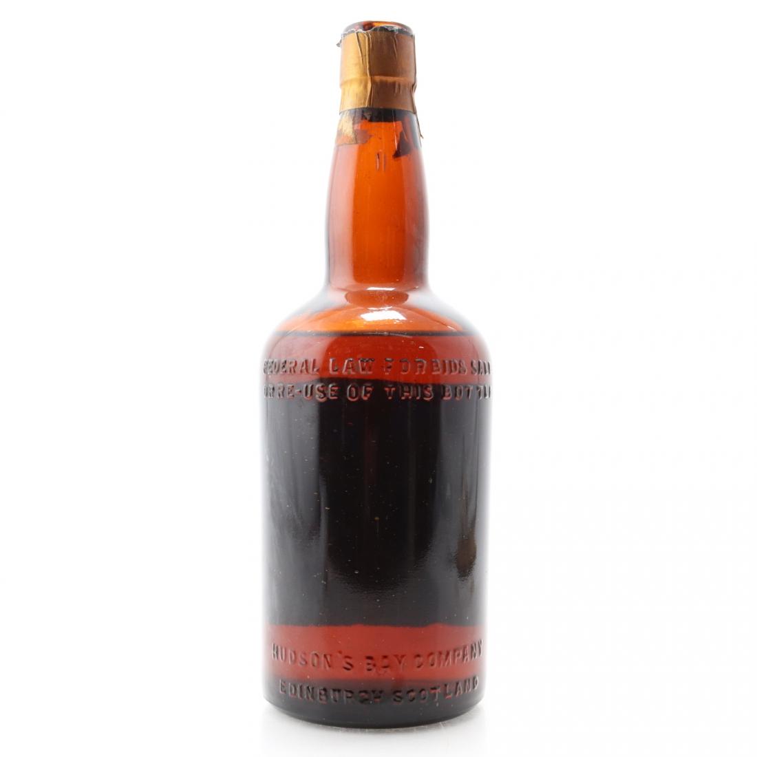 Hudson's Bay '1670' Brand 15 Year Old Scotch circa 1960s
