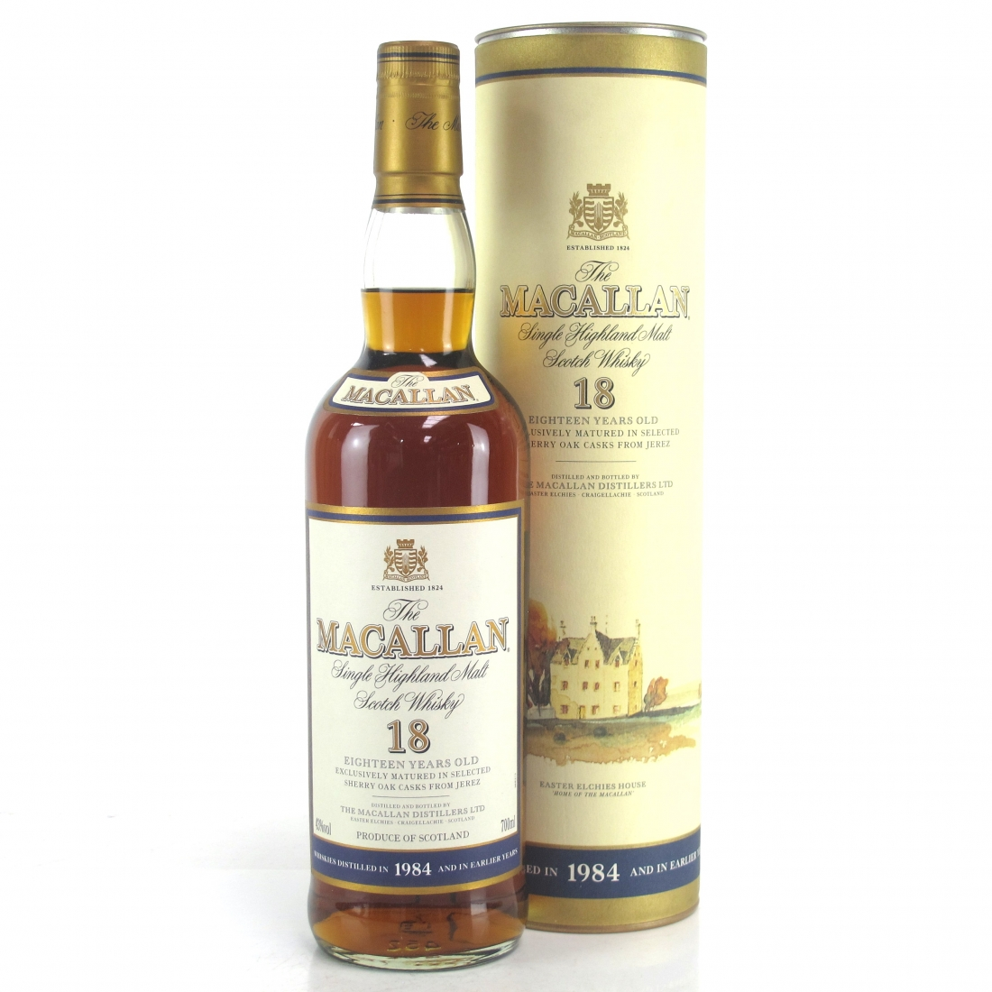 Macallan 18 Year Old 1984